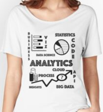 Data Analytics Awesome T-Shirt Women's Relaxed Fit T-Shirt