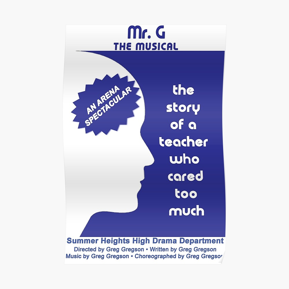 Mr. G The Musical Poster