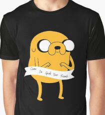 Adventure Time Jake the Dog Graphic T-Shirt