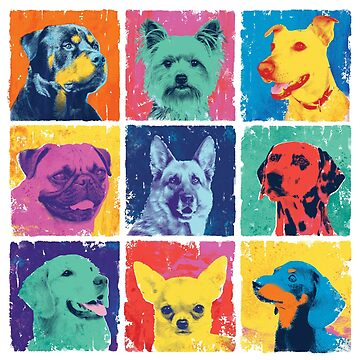 Pop Art Dogs de designbydinny