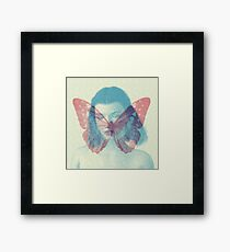 Dreaming of Butterfly Framed Print