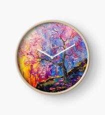 Sakura bloom Clock