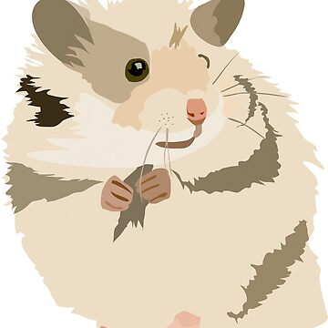 Riki the hamster by Cocotteetloulou