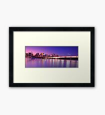 Brisbane Framed Print
