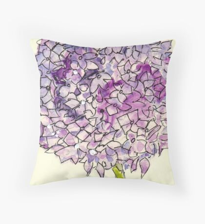 From the bottom of the garden... Throw Pillow