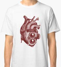 Camera Heart Classic T-Shirt