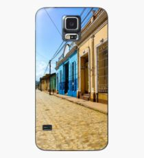 Streets of Trinidad Cuba Case/Skin for Samsung Galaxy