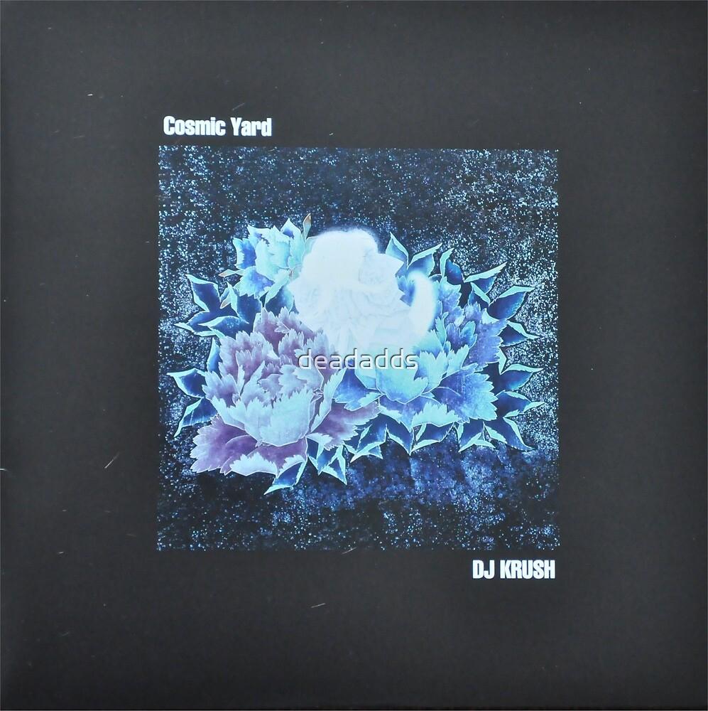 Dj Krush - Cosmic Yard - LP sleeve art fan art by deadadds