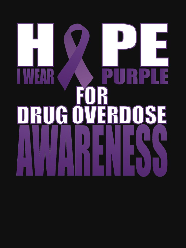Drug Overdose Awareness Day Gifts Shirt by SamDesigner