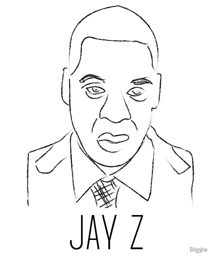 Jay Z by Bigghe