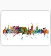Edinburgh Scotland Skyline Sticker