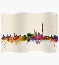Berliner Skyline Deutschland Poster