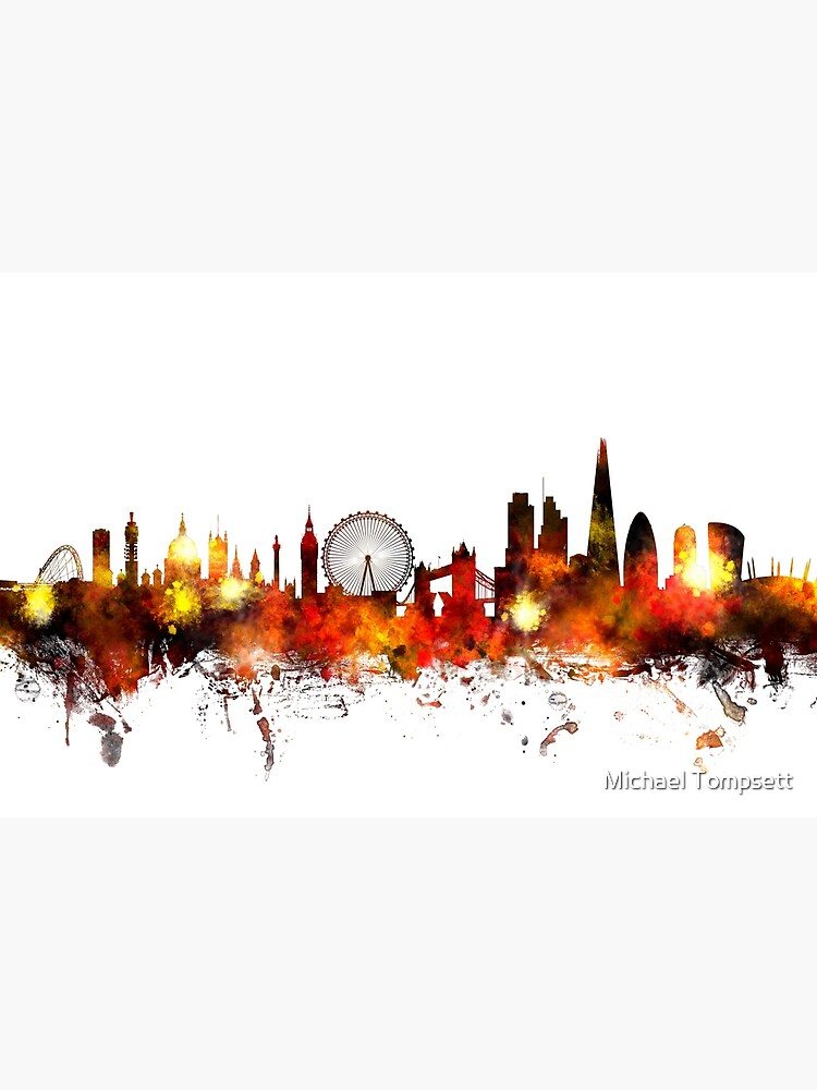 London England Skyline by ArtPrints