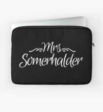 Mrs. Somerhalder Laptop Sleeve