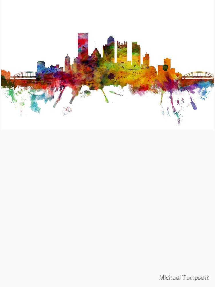 Pittsburgh Pennsylvania Skyline by ArtPrints