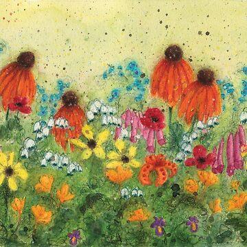 Flower Garden 1 by HeidiHoHo