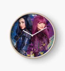 Reloj cartel de descendientes