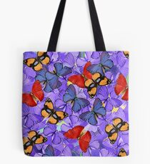 Composition With Echoed Butterflies #1 Tote Bag