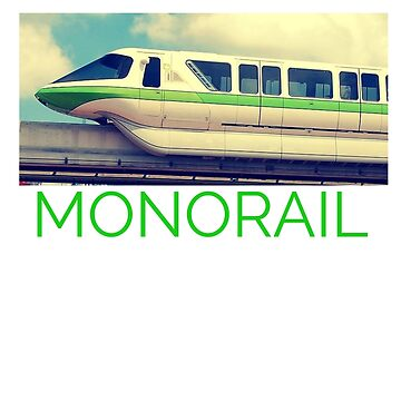 Vintage Style Classic Monorail Design by railwayblogger
