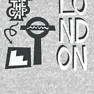 London Mind the Gap by designkitsch