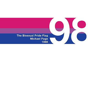 The Bisexual Pride Flag 1998 by BendeBear