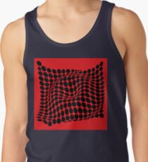 COME INSIDE (RED/BLACK) Camiseta de tirantes