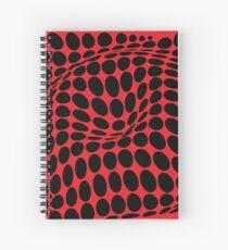 COME INSIDE (RED/BLACK) Cuaderno de espiral