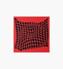 COME INSIDE (RED/BLACK) Lámina rígida