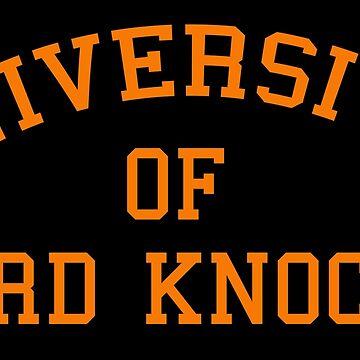 University of hard knocks by sillyshirtsco