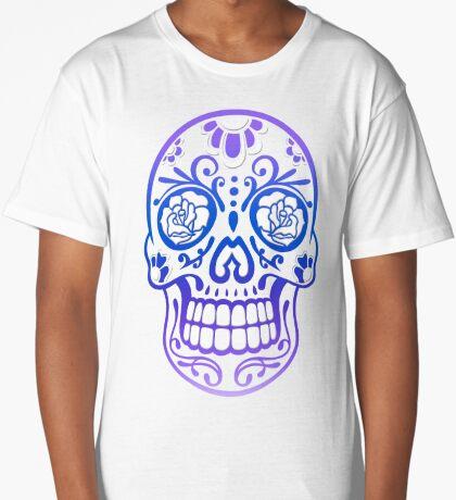 Totenkopf, Totenschädel, Sugar Skull Longshirt
