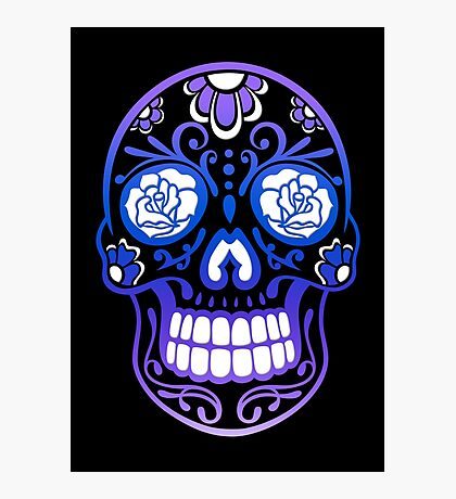 Totenkopf, Totenschädel, Sugar Skull Fotodruck