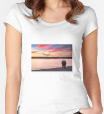 Color of Love Fitted Scoop T-Shirt