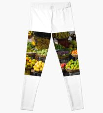 Fruits Market Sale Leggings
