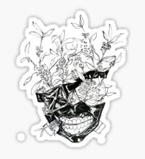 Kaneki Flower Mask Sticker