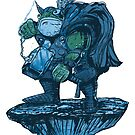 Throggy Warrior by Thomas Orrow