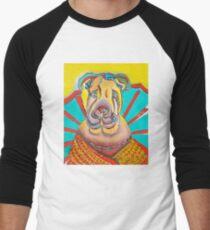 Beach Dog Men's Baseball ¾ T-Shirt