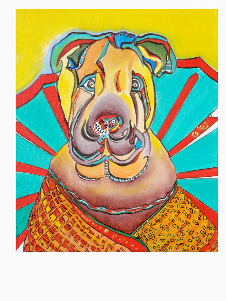Beach Dog by GalleryGiselle