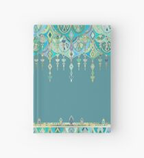 Art Deco Double Drop - custom request Hardcover Journal