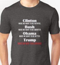 Trump lässt mich Kanadier werden Slim Fit T-Shirt