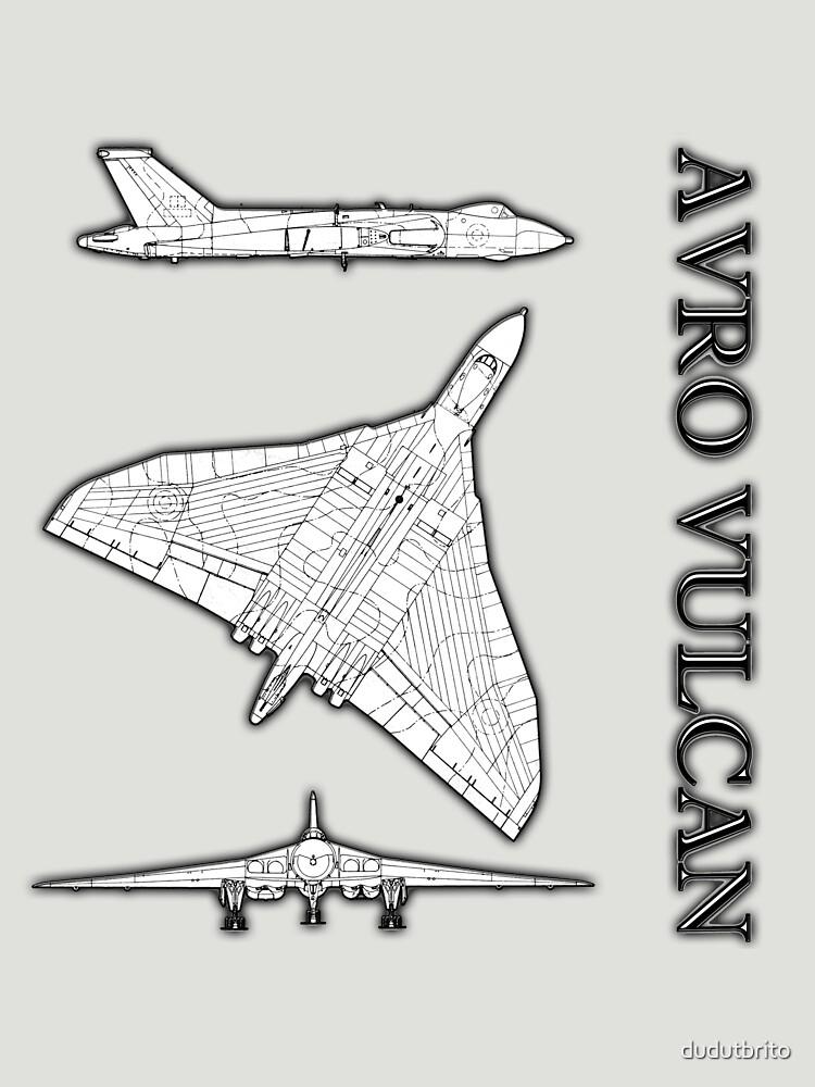 Avro Vulcan by dudutbrito