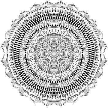«Flower of life - mandala» par Omelia-Plude