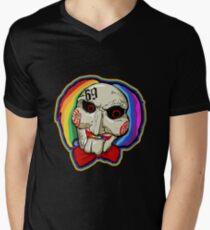 Tekashi 6ix9ine Jigsaw  Men's V-Neck T-Shirt