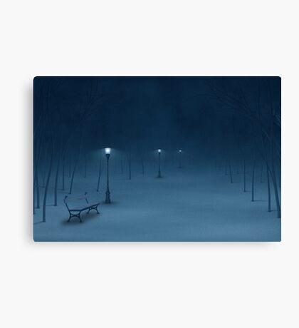 Quiet Night Canvas Print