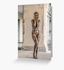 bodypainting Greeting Card