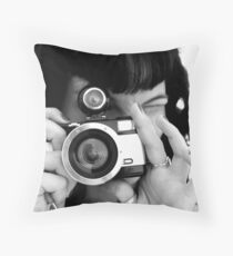 Say Cheese! Throw Pillow