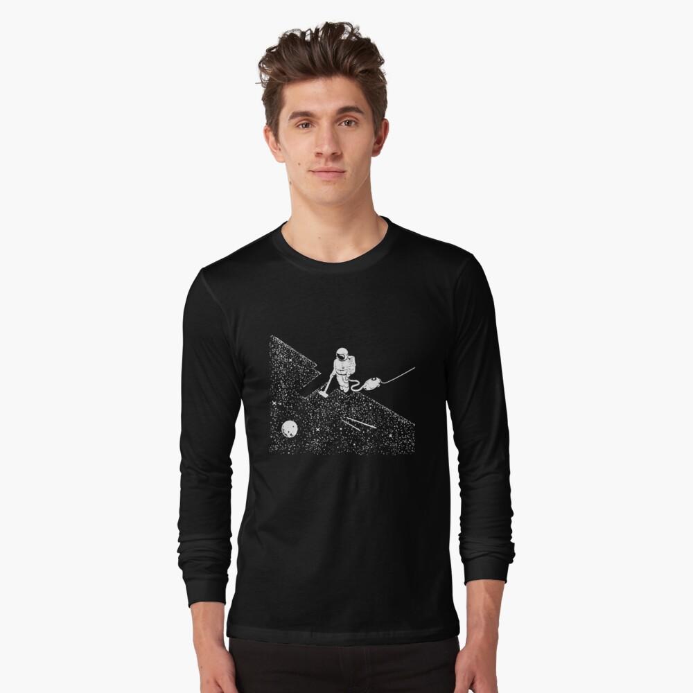 Raum Staubsaugen T-Shirt Langarmshirt