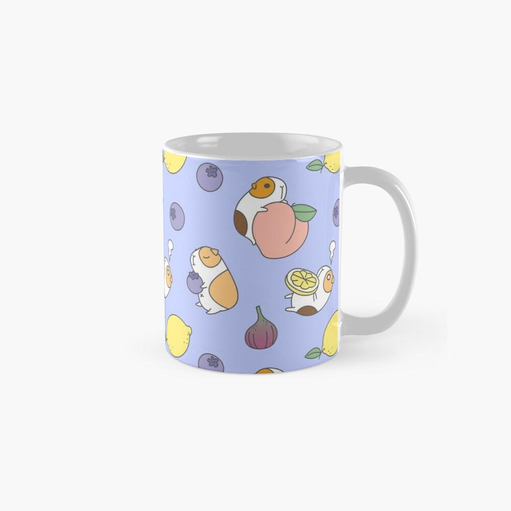 Guinea pig and blueberry  Mug