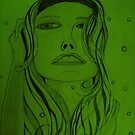 lady in green by Jackie Morgan