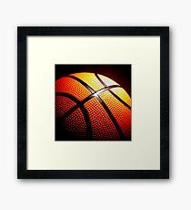 Basketball B-Ball Team Player Framed Print
