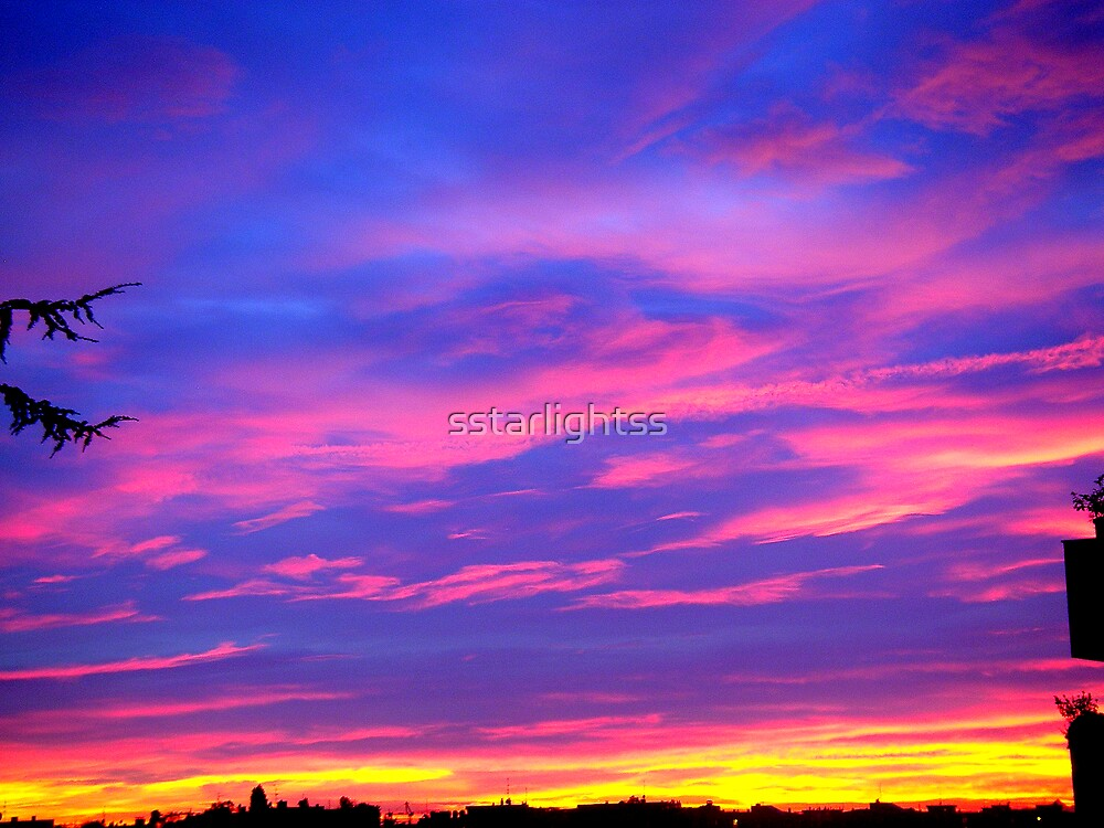 Urban Sunset by sstarlightss